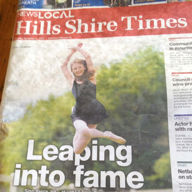 Hills Shire Times Cover - September 2012