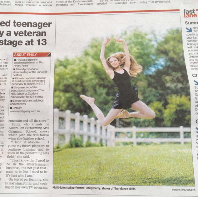 Hills Shire Times Article - September 20