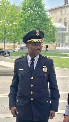 Patrick in federal uniform
