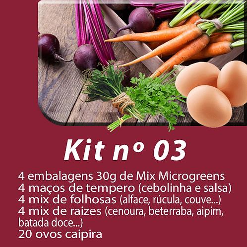 Kit 03 - Cesta de produtos - Assinatura