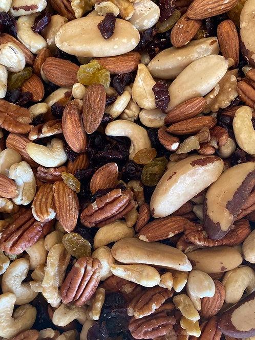 מיקס אגוזים טבעי 250 גרם