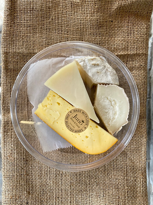 צלחת גבינות זוגית 200 גר