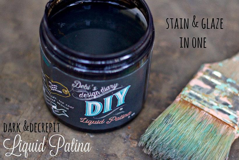 Dark and Decrepit Liquid Patina