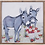 Thumbnail: Donkeys with Basket of Flowers