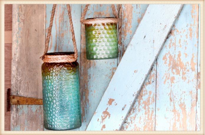 Rope Handle Jars