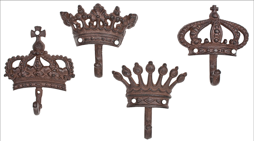 Crown Hook Cast Iron