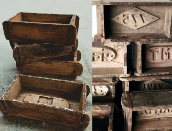Vintage Brick Molds