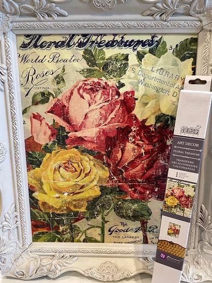 Floral Treasure-11x14