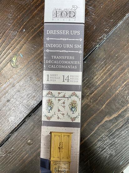 Dresser Ups-Indigo Urn Small