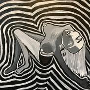 Ecstasy (10 x 15 acrylic on canvas)