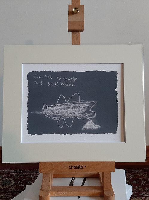 Kona Print - The Fish is Caught