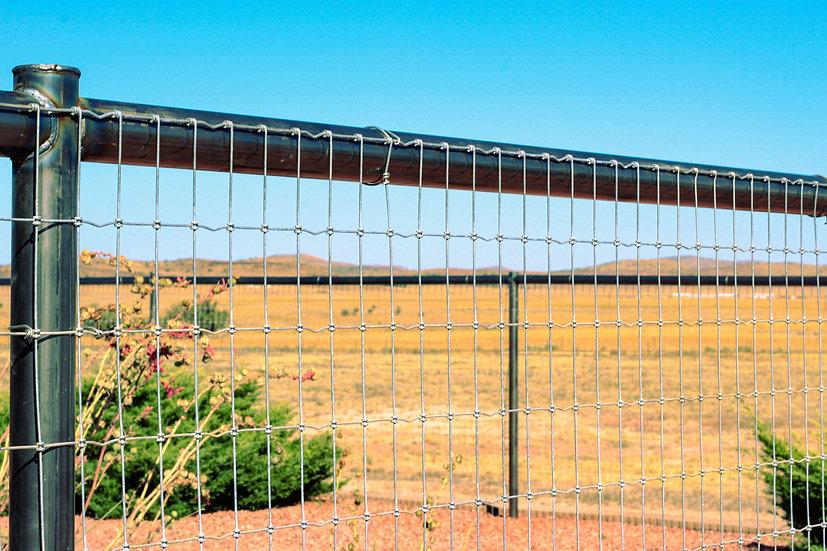 basic top rail fencing. 12 dollars a foot