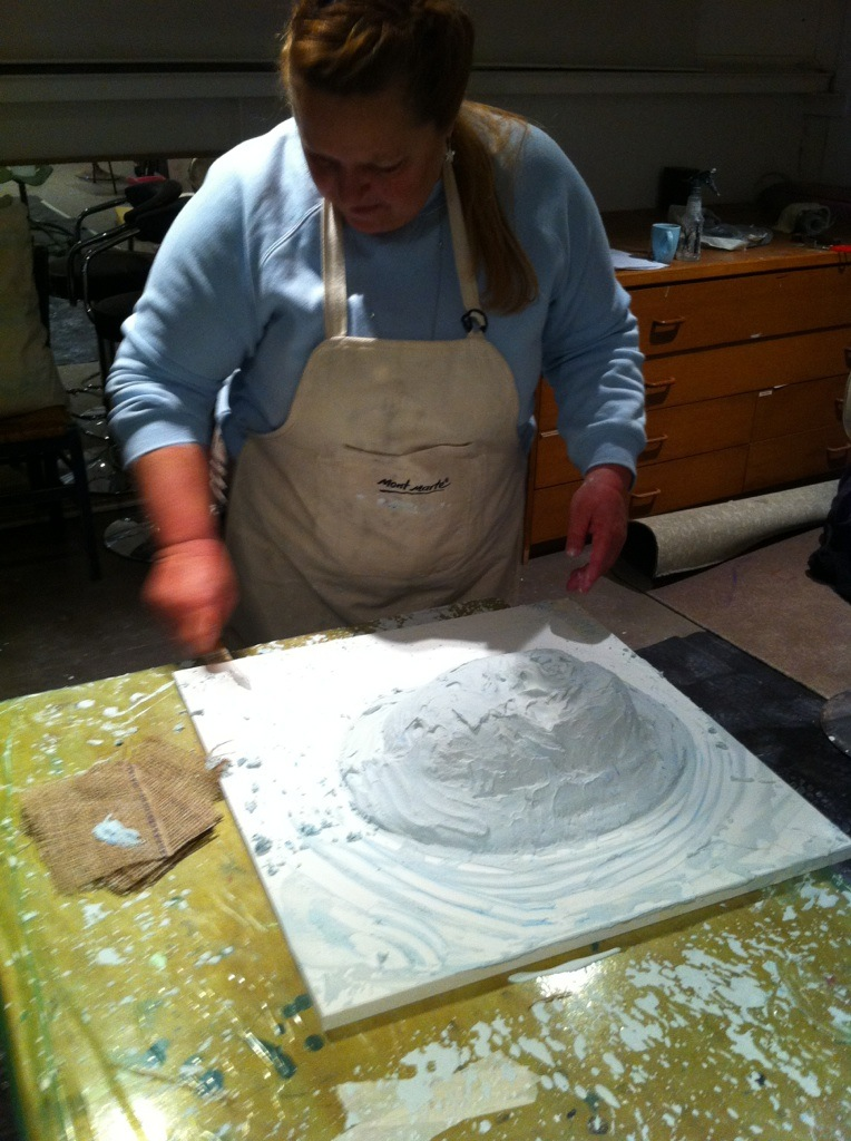 Preparing the mould