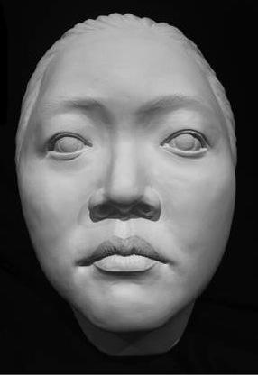 Porcelain Clay Sculpture, Nicole
