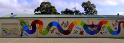Dreamtime Rainbow Snake for the kids