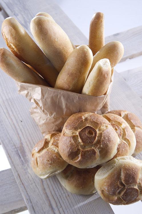 Panini con farina Bio.