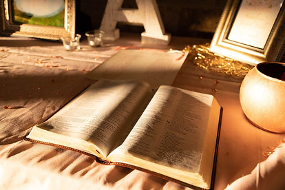 Wedding Table Bible
