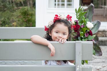 Flower Girl Posing