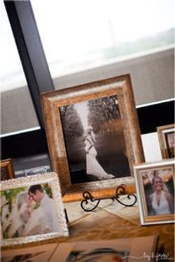 wedding photos and frames