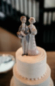 Wedding Cake Topper Porcelain