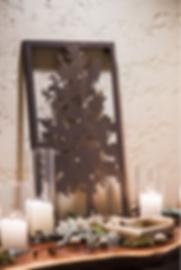 Wedding Table Display Nature