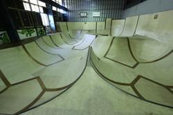 Skateboard park in Denmark