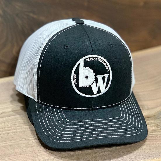 Hat : Black/White
