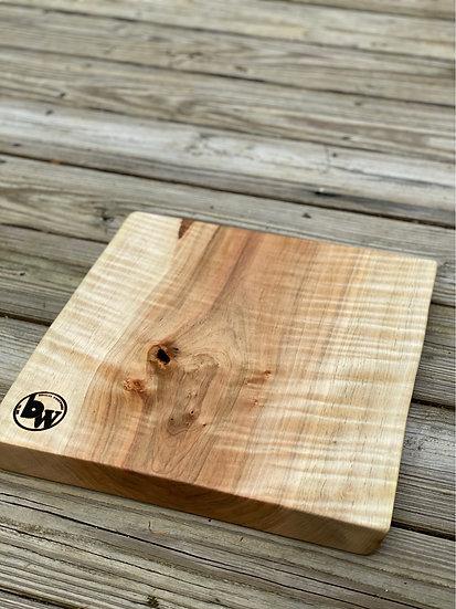 Maple live edge charcuterie board