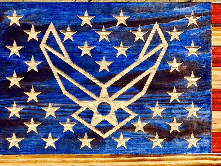 Air Force Handcarved