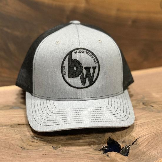 Hat : Heather Grey/Black