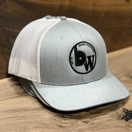 Hat : Heather Grey/White
