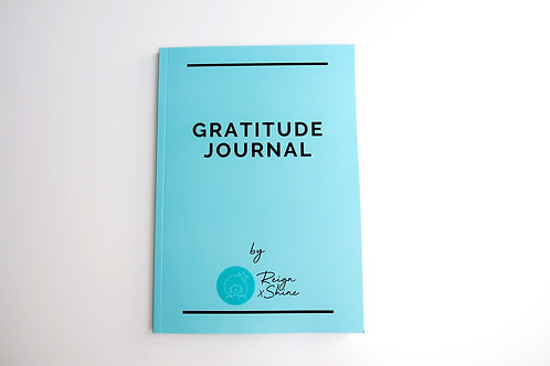 Reign x Shine Gratitude Journal