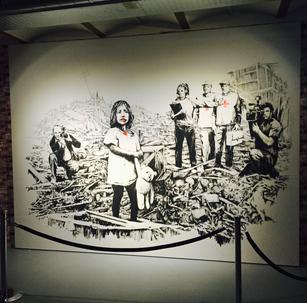 Banksy Solo Exhibition in Amsterdam