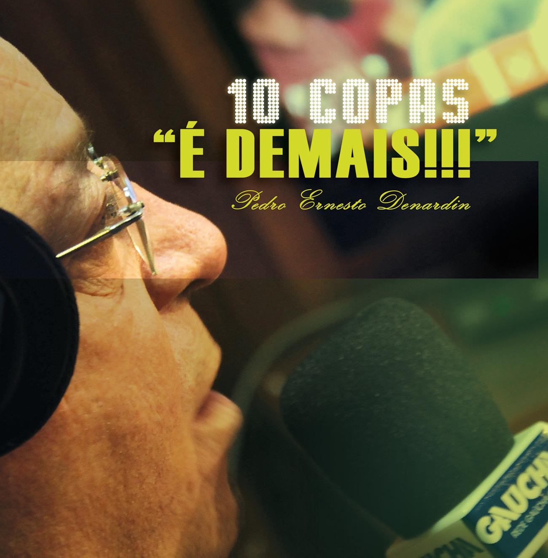 """Livro """"10 Copas - 'É Demais!!!'"""""""