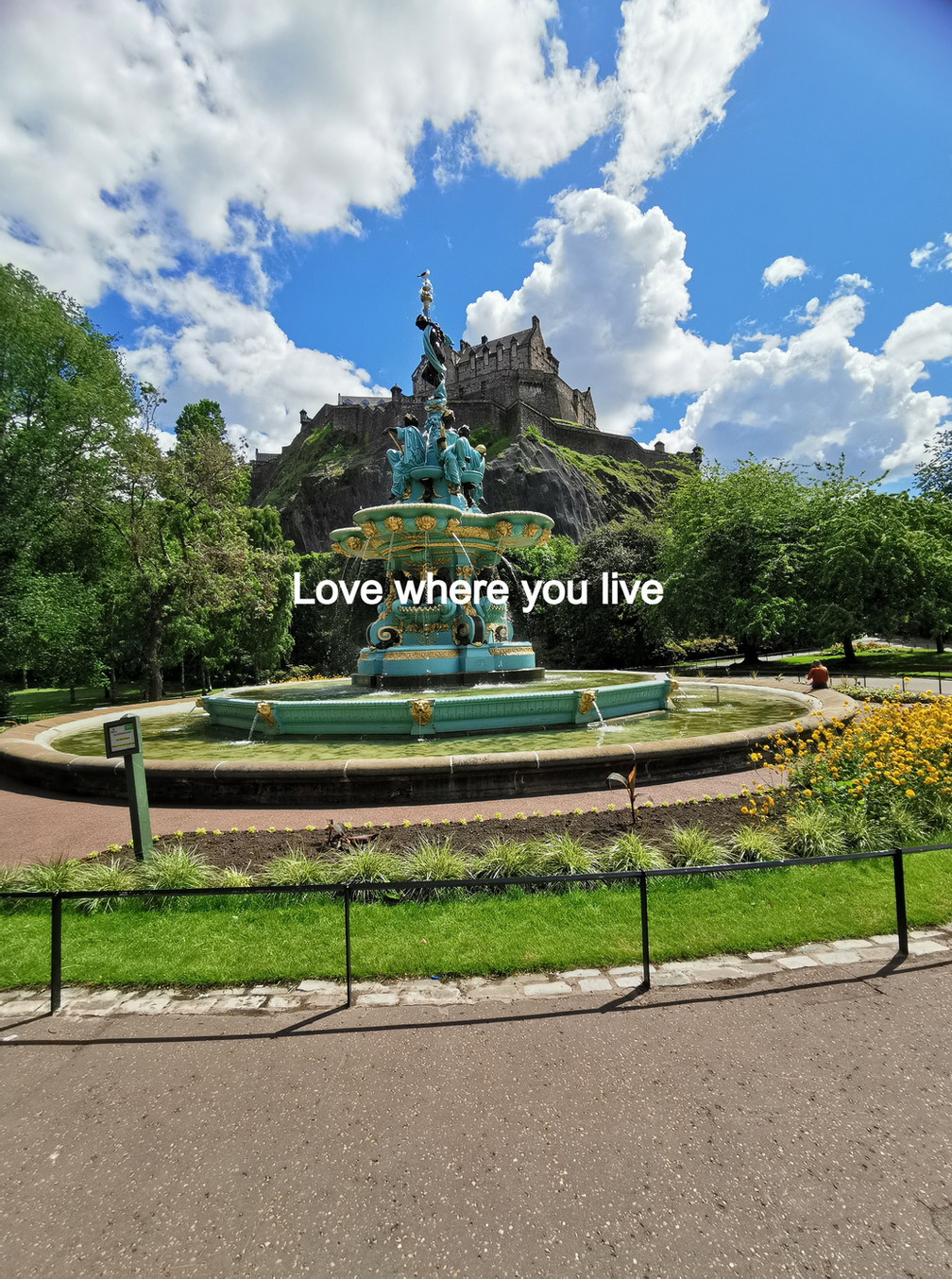 The Ross Fountain Edinburgh