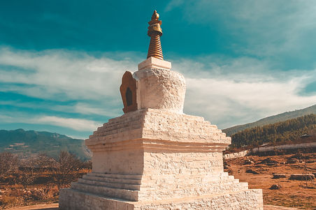 Bhutan Eco Lodges- Stupa
