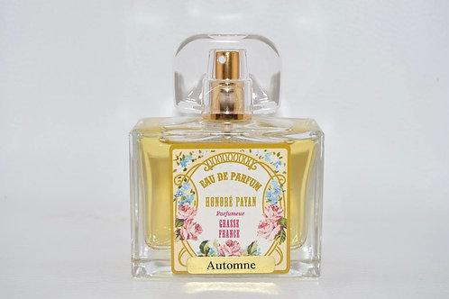 Eau de parfum femme, Automne, parfum de Grasse, Honoré Payan