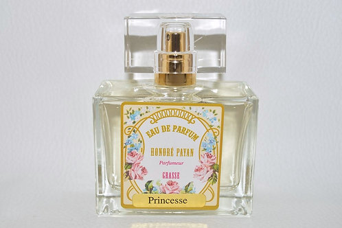 Eau de parfum femme, Princesse, parfum de Grasse Honoré Payan, fabriqué  en France