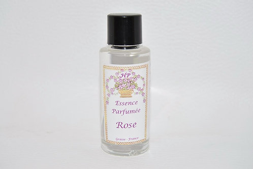 Essence parfumée Rose, 15 ml, Fabriqué en France, pour galet en céramique plâtre