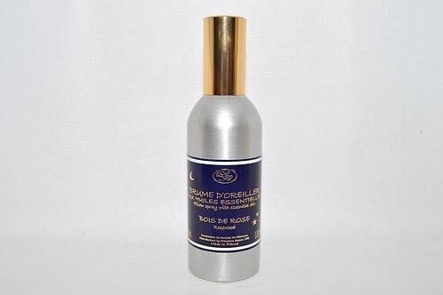 Brume d'Oreiller aux huiles essentielles, Bois de rose, 100 ml
