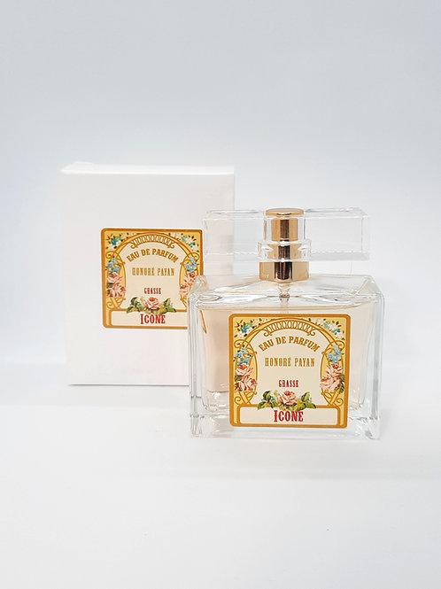 Icône, eau de parfum de Grasse pour femme, 50ml, Honoré Payan