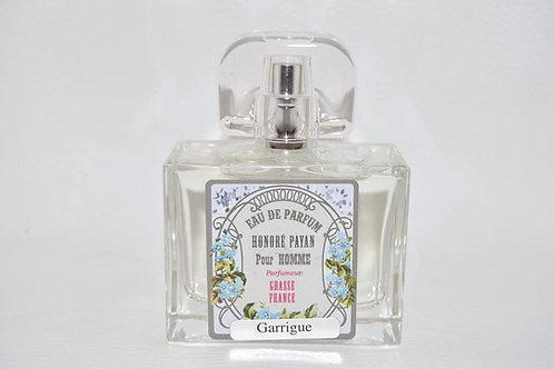 Eau de parfum homme - Garrigue - parfum de Grasse - fabriqué  en France