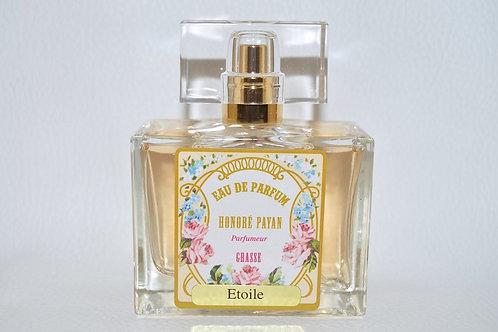 Eau de parfum femme, Etoile, Honoré Payan, fabriqué en France à Grasse