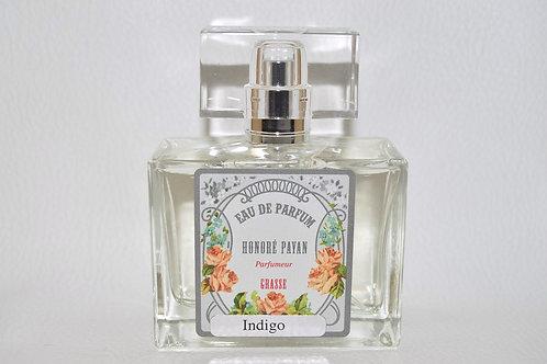 Eau de parfum homme, Indigo, Parfum de Grasse Honoré Payan, fabriqué  en France