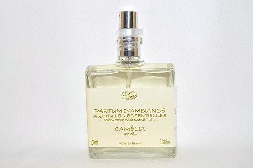 Parfum d'Ambiance aux huiles essentielles - Camélia - 100 ml