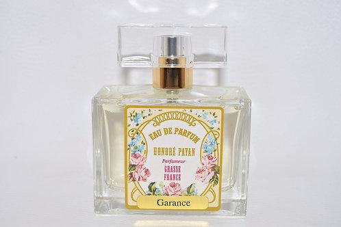 Eau de parfum femme, GARANCE, parfum de Grasse, Honoré Payan