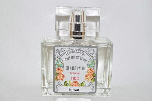 Eau de parfum homme, Epice, Honoré Payan, parfum de Grasse, fabriqué  en France