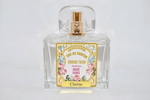 Eau de parfum femme, Clarine, parfum de Grasse, Honoré Payan
