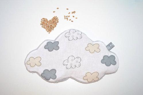 Bouillotte sèche bébé enfant grain de blé bio, fabriqué en France