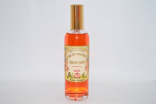 Eau de toilette, Fruits rouges, Fabriqué en France, parfum de Grasse
